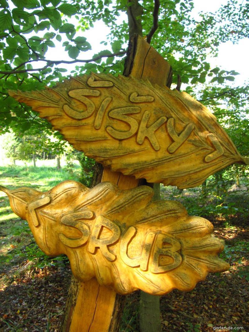 Arboretum Křtiny - díky směrovkám se nestratíte